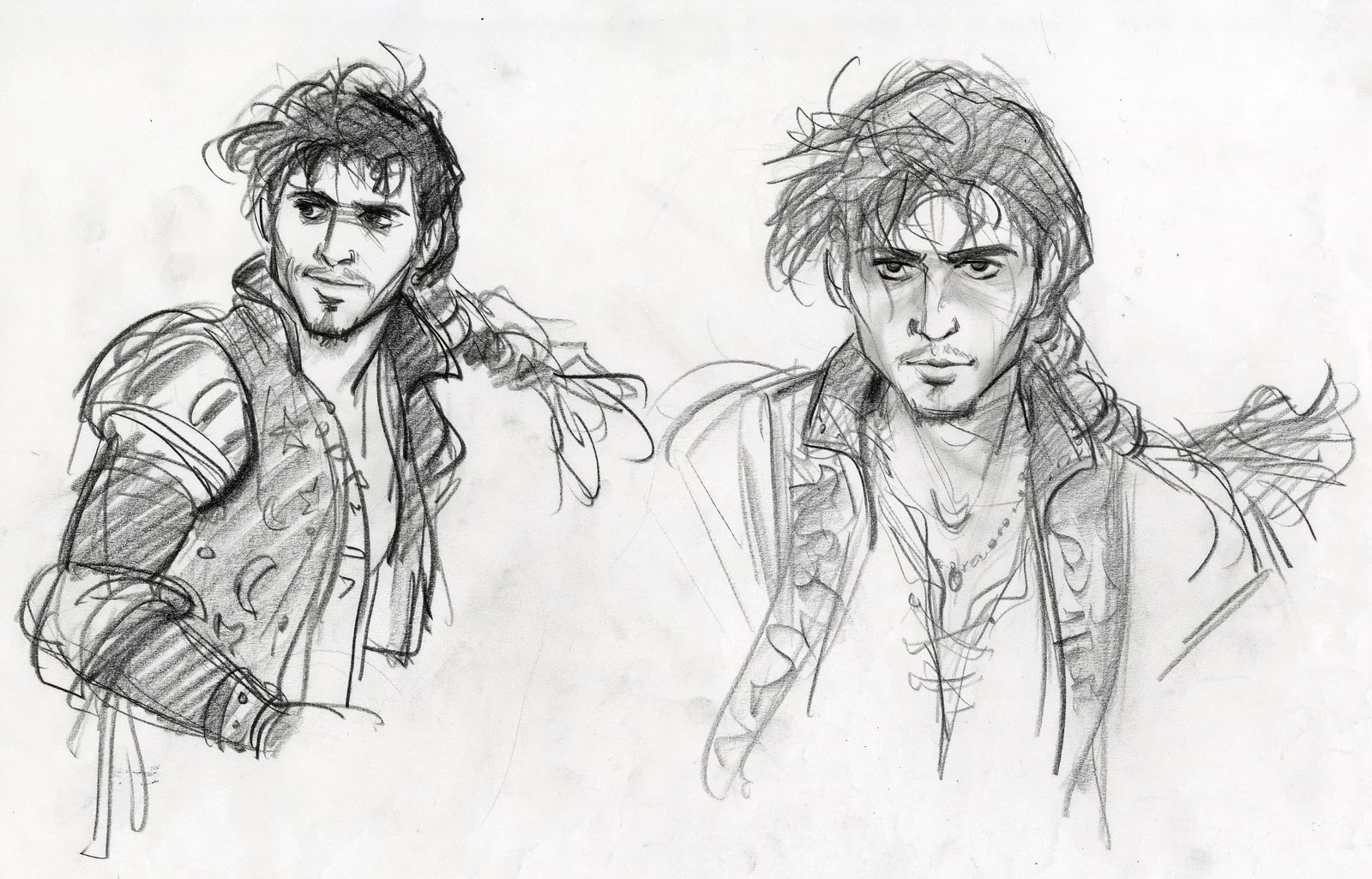 Cartoon Concept Design: TANGLED: sketches and characters ...