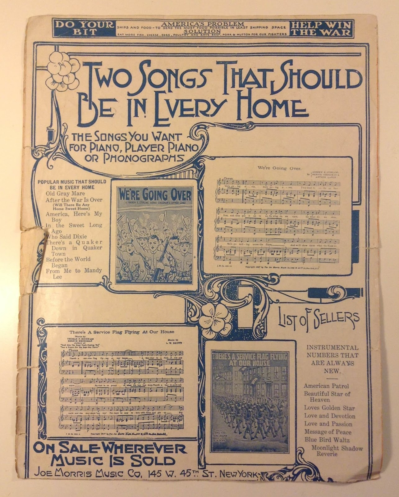 Antique Treasures: In The Sweet Long Ago - Sheet Music