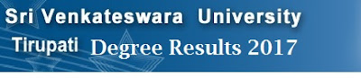 SVU Degree 3rd Year Results 2017