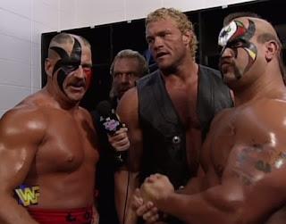 WWE / WWF - King of the Ring 1997 - Doc Hendrix interviews Sid & The Legion of Doom