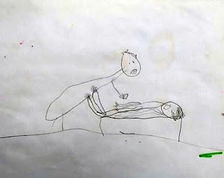 Εικόνες - ΣΟΚ: Με αυτά τα ανατριχιαστικά σχέδια υπέδειξε μια πεντάχρονη τον παπά που την βιαζε