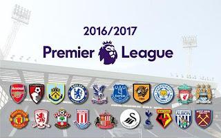 Prediksi Klasemen Akhir Liga Inggris 2016-2017