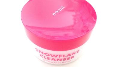 Nooni Snowflake Cleanser