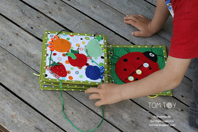 TomToy Little quiet book for Arthur Very hungry caterpillar