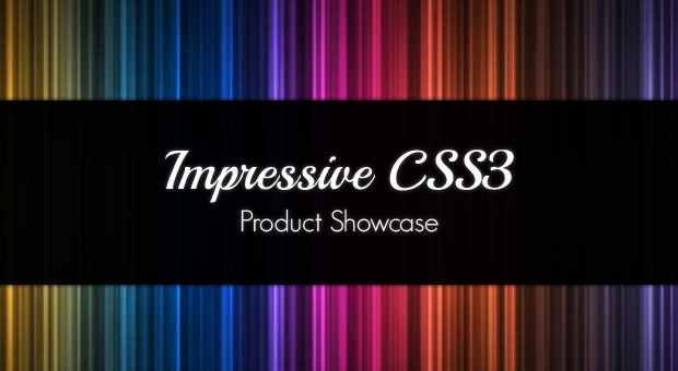 Free Tutorial Making an Impressive Product Showcase with CSS3