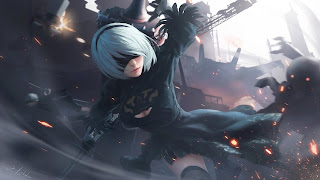 Nier Automata PS3 Wallpaper