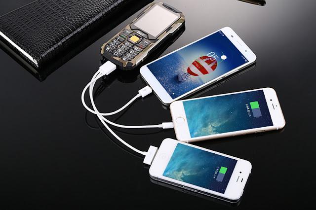 điện thoại siêu mỏng sạc pin cho máy khác