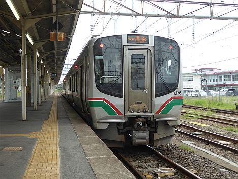 東北本線 ワンマン 黒磯行き2 E721系(2017.10.13廃止)
