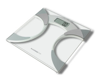 Great scales, accurate Salter 9141 WH3R Glass Body Fat Analyser Bathroom Scale £15.00