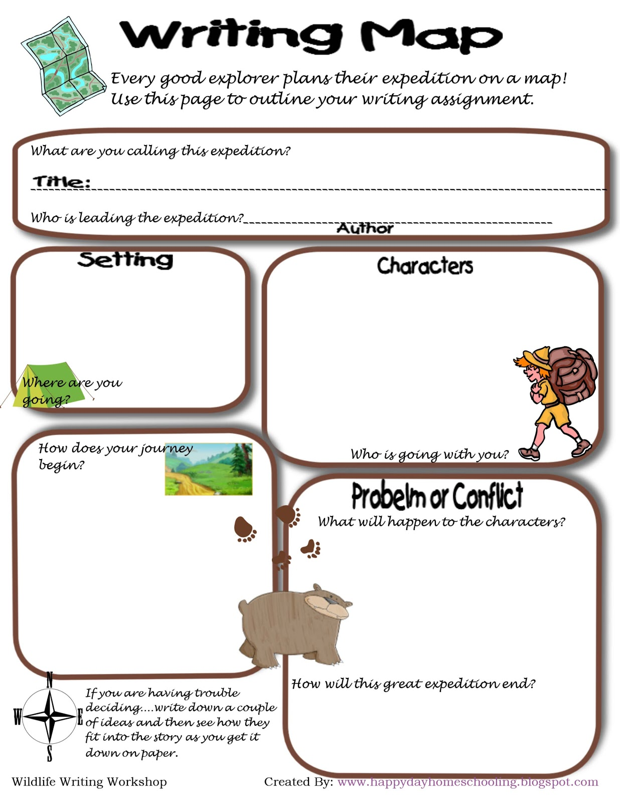 Happy Day Homeschooling Wildlife Word Work More