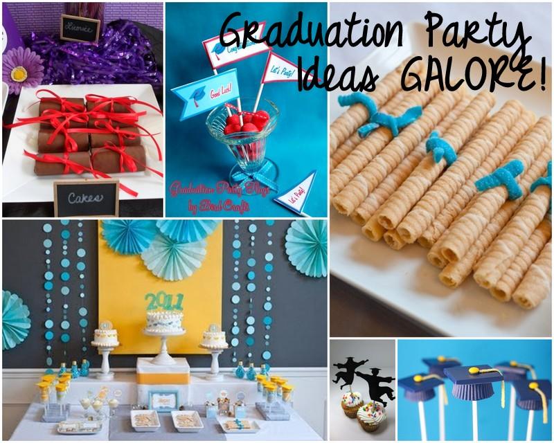 Cute Grad Party Invites