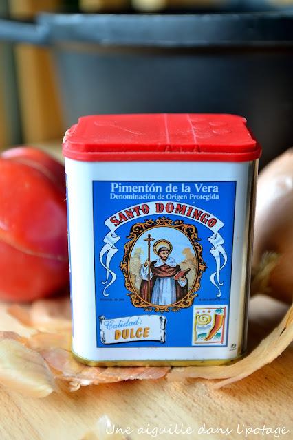 Sauté de concombre aux tomates pimenton