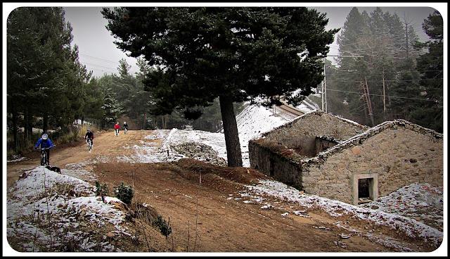 AlfonsoyAmigos - Nieve en San Rafael