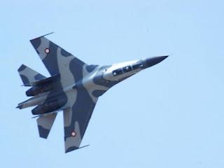 Manuver Sukhoi Su-27/30 TNI AU