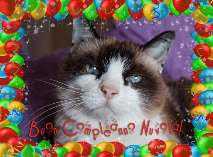 Souvent Mondo Gatto: Buon Compleanno Nuvola! EF89