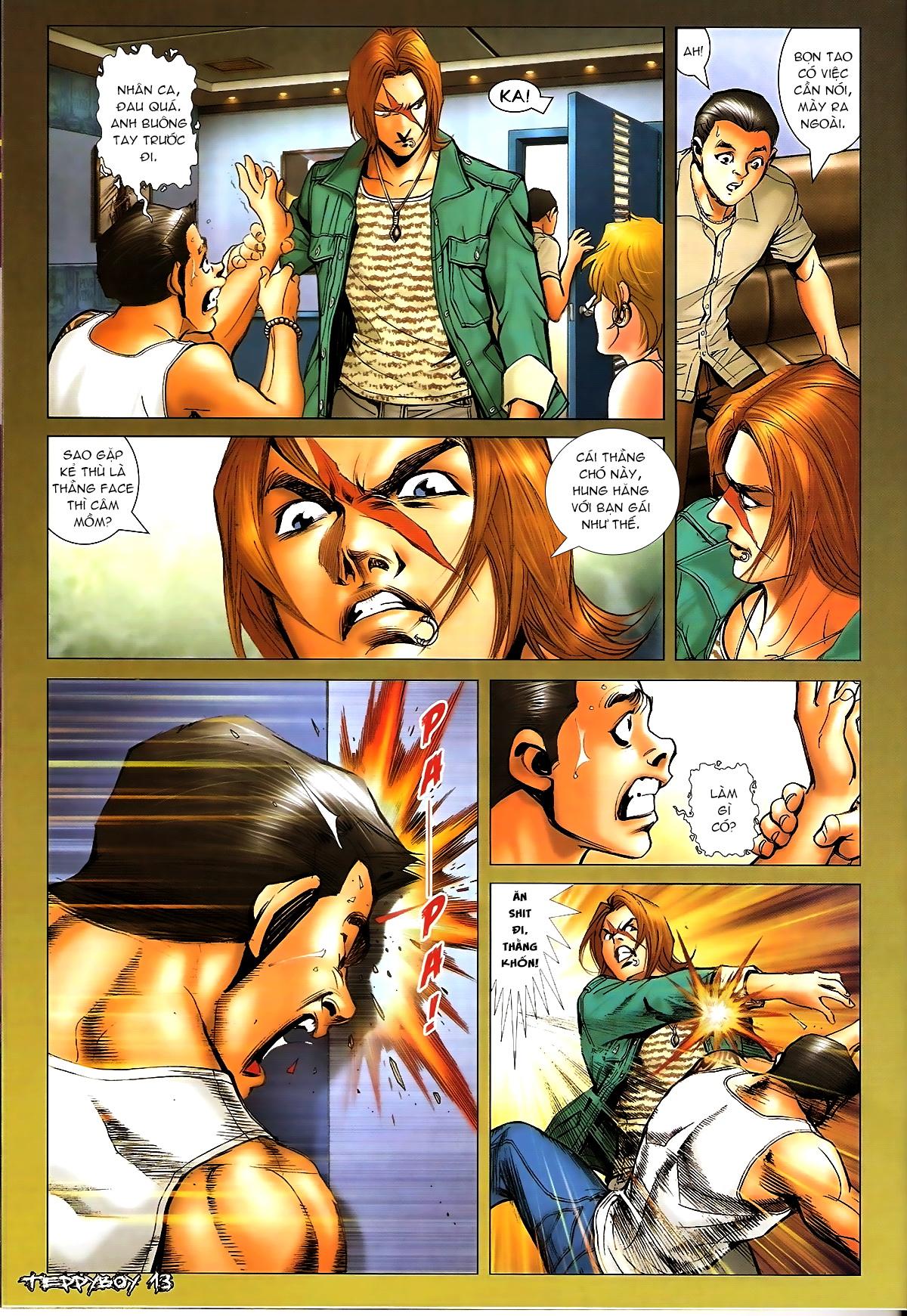 Người Trong Giang Hồ - Chapter 1329: Thằng hèn - Pic 12