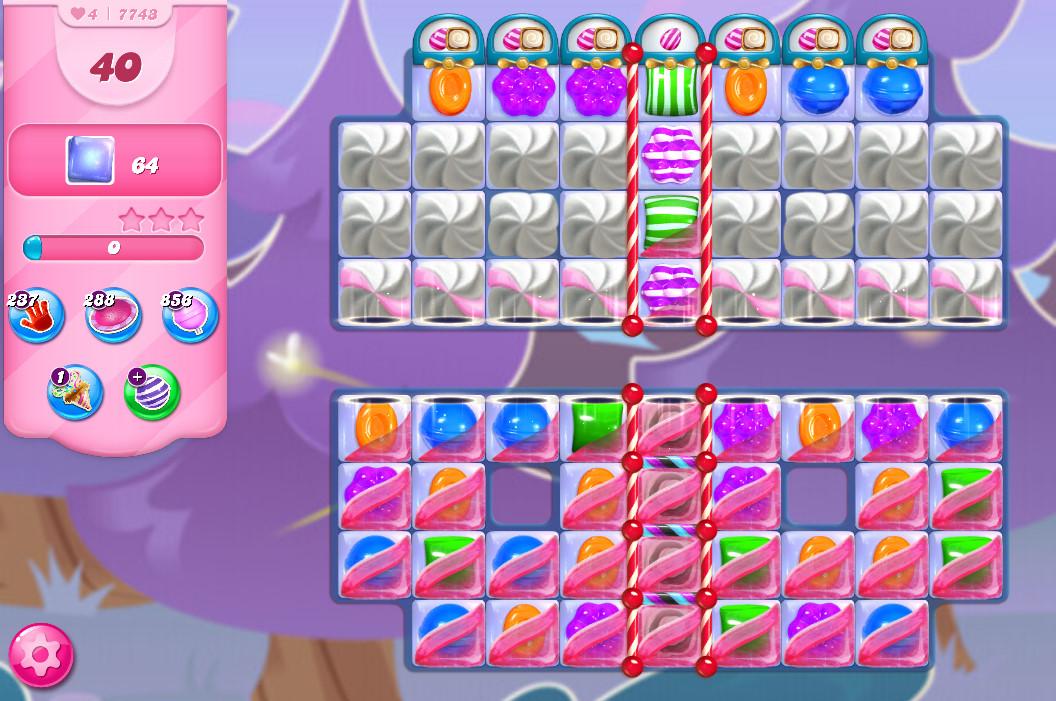 Candy Crush Saga level 7743