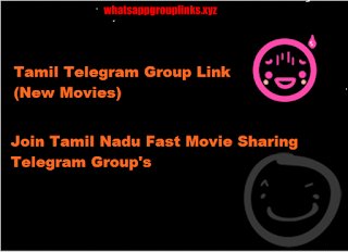 Tamil Telegram Group Links