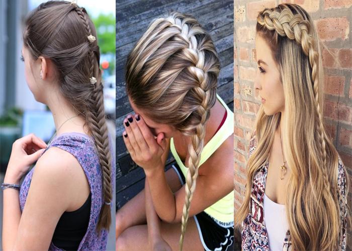 Peinados Para Niñas Peinados Para El Colegio Faciles Y Rapidos Fotos Paso A Paso