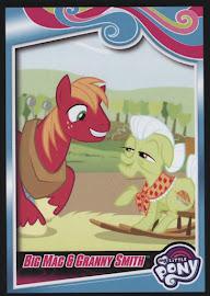 My Little Pony Big Mac & Granny Smith Series 4 Trading Card