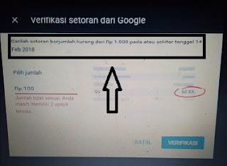 Cara menambah no. rekening metode pembayaran google adsense