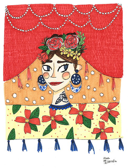 Feria ilustracion