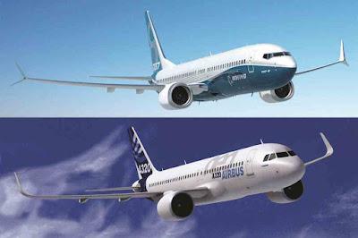 Perbedaan Boeing dan Airbus - Sekitar Dunia Unik