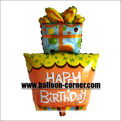 Balon Foil Happy Birthday Gift Jumbo