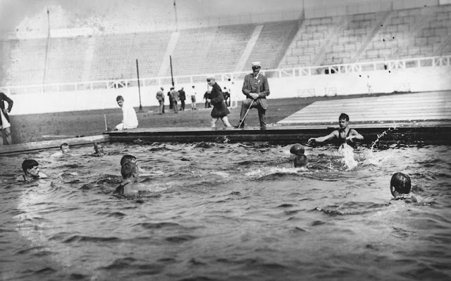 The London Olympics Of 1908: Swimming