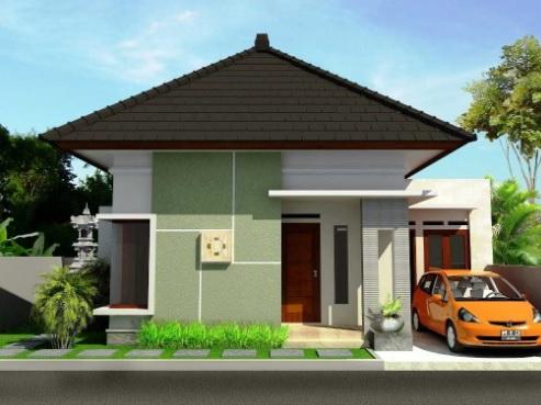 rumah sederhana tapi mewah 1 lantai