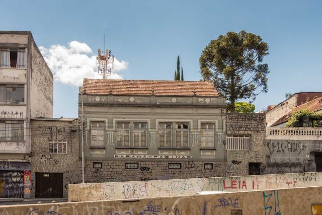 """A antiga sede da revista """"Paraná em Páginas"""""""
