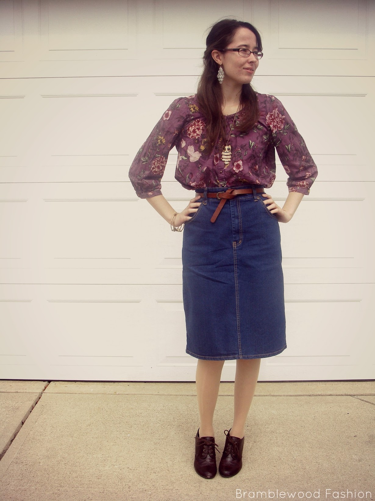 88a173636571 Bramblewood Fashion   Modest Fashion & Beauty Blog: What I Wore   I ...