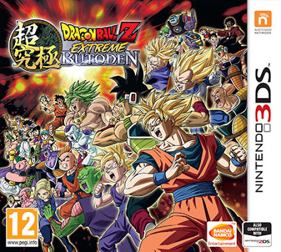 Dragon Ball Z Extreme Butoden CIA 3DS EUR + UPDATE 1.0