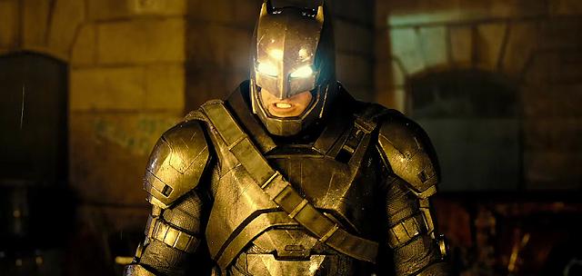 Batman v Superman Dawn Of Justice: Armura de luptă a lui Batman