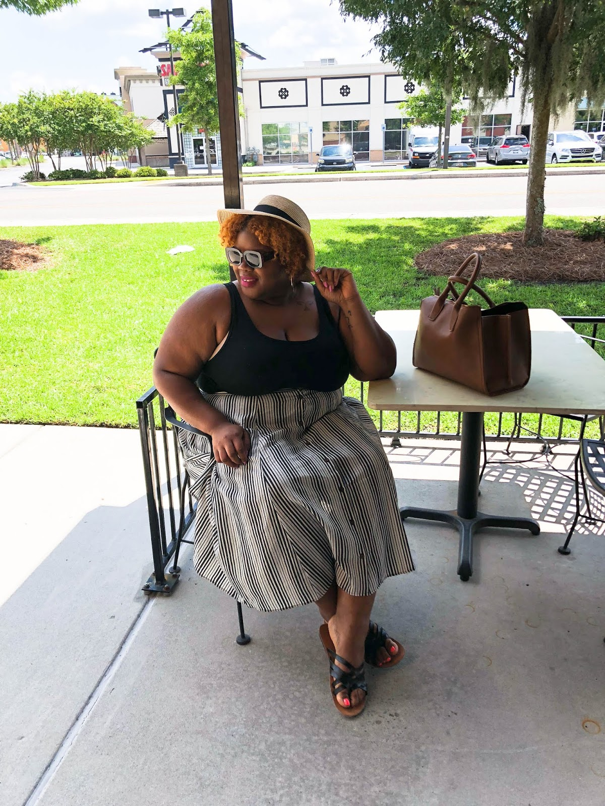 Friday OOTD  Facing Fashion Fears & A Midi Skirt