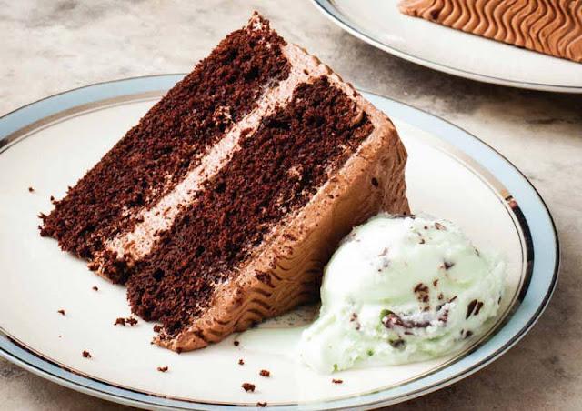 Chocolate Sour Cream Layer Cake With Milk Chocolate Buttercream Recipe