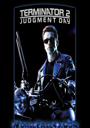 Poster Of Terminator 2: Judgment Day 1991 In Hindi Bluray 720P Free Download