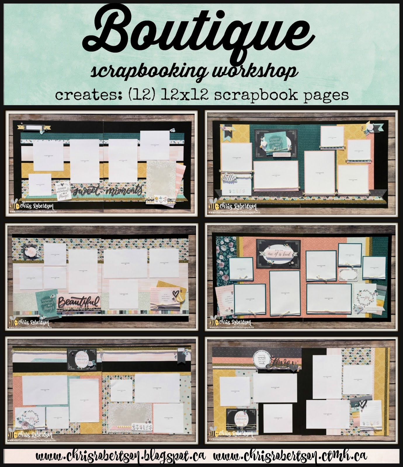 Boutique Scrapbooking Workshop