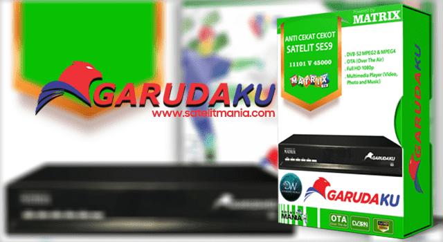 Daftar Channel Garudaku dari Matrix TV di Satelit SES 9
