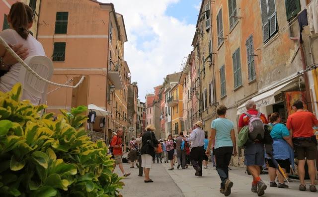 Centro turístico em Vernazza
