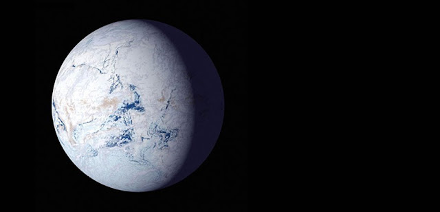 Orbital variations can trigger 'snowball' states in habitable zones around sunlike stars