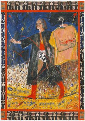 Tightrope (1994), Emma Amos