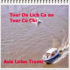 CU CHI TOUR BY SPEED BOAT