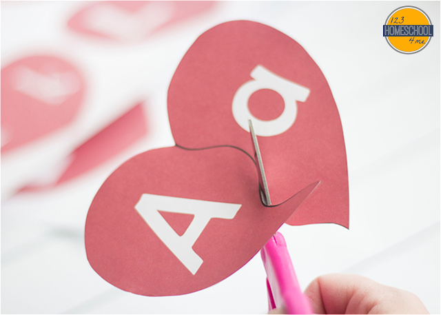 valentines day alphabet games