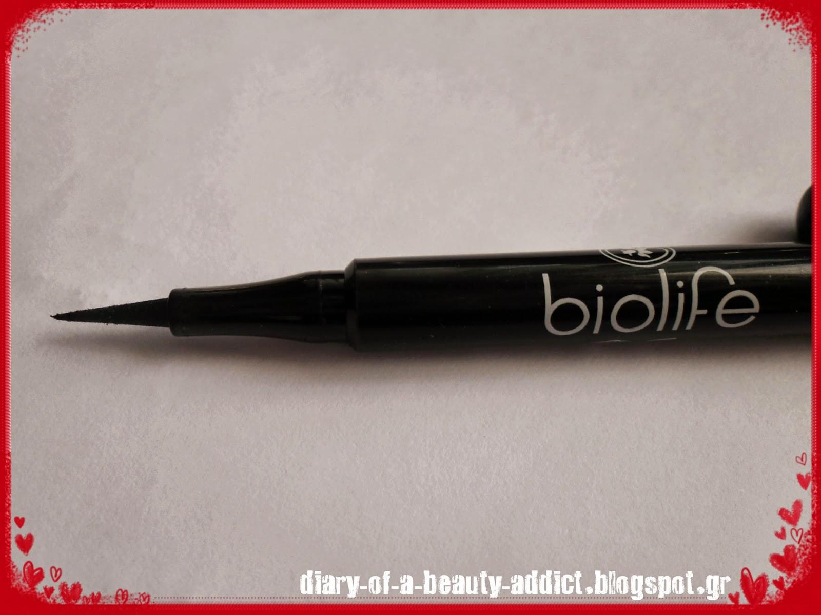 Biolife Easy Liner Pen Blackest Black