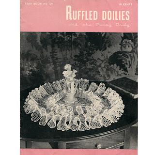 Crochet Doily Pattern Book, American Thread No 59, Doilies