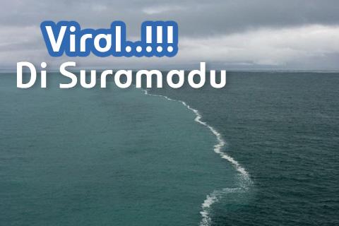 Air Laut Bertemu Air Tawar di Suramadu, Apakah Ini?
