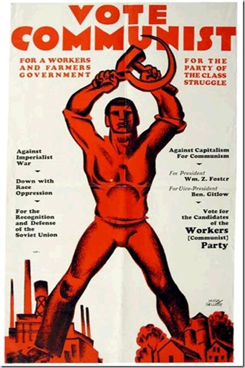 Communist America's poster