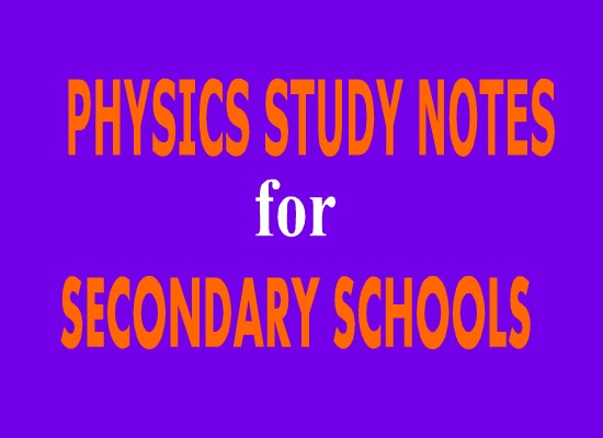 form four physics study notes topic 5 electronic topic 6 elementary astronomy darasaletu maktaba