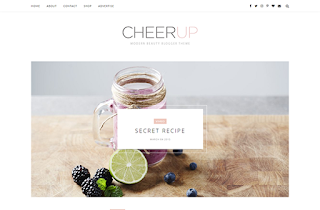 CheerUp Slider Blogger Template